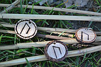 Руна Урус Uruz ручной работы подвески, брелки, браслеты