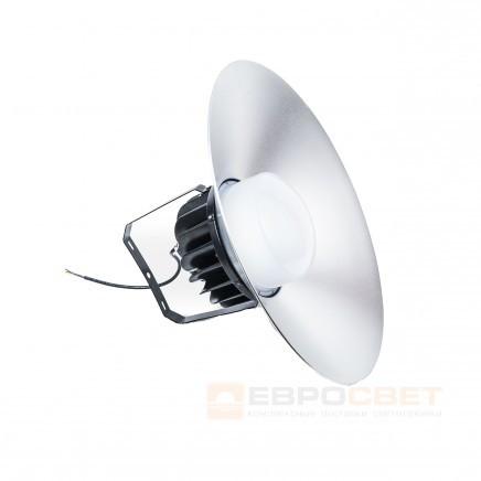 Светильник промышленный Евросвет  EVRO-EB-100-03 100W IP65 6400K с рассеивателем 120° - Svitlo-era в Киеве