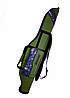 Чехол для спиннингов двухсекционный полужесткий 145 см KENT&AVER