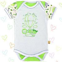 Боди-футболка для новорожденных р.68см. Тонкий хлопок-Кулир 13030кукс.В наличии 62,68,74см. Рост