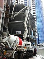 Миксер - Бетононасос с подачей бетона до  24 м