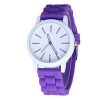 Наручные женские часы Geneva фиолетовые