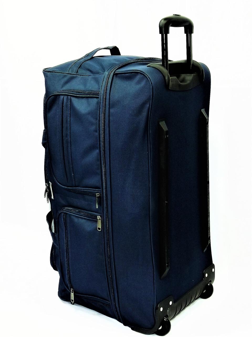ca4faf5133f9 Сумка дорожная на колесах большая My Travel T-70-1 синяя, цена 1 068 ...
