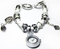Часы браслет Pandora Пандора  3 цвета Белый