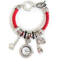 Часы браслет Pandora Пандора  3 цвета Красный