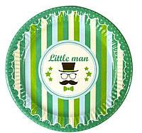 """Тарілки дитячі святкові опт """"Little Man"""" / 10 шт в упаковке. 143/3"""