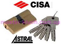 Цилиндровый механизм CISA Astral ОА317-12  40/30