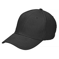Кепка, бейсболка 100% хлопок MilTec Black 12315002