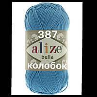 Пряжа для ручного вязания Alize Bella (Ализе Белла) 387  Голубой Сочи