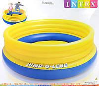 """Надувной детский игровой центр - батут Intex, 48267 """"Original Jump-O-Lene"""""""