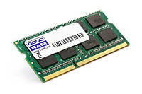 Оперативная память so-dimm для ноутбука 2Gb, DDR3, 1600 MHz (PC3-12800), Goodram, 1.35V (GR1600S3V64L11/2G)