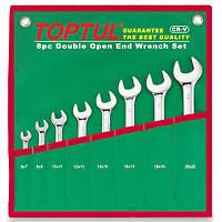 Набор рожковых ключей 8 шт. 6-22 Toptul GAAA0812 (Тайвань)
