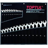 "Набор ключей комбинированных 26 шт. 6-32 ""Hi-Performance"" Toptul GPAX2601 (Тайвань)"