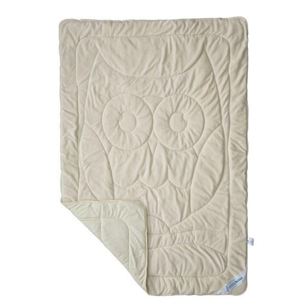 Одеяло детское летнее махровое SoundSleep 110х140 Cute бежевое 150 г/м2