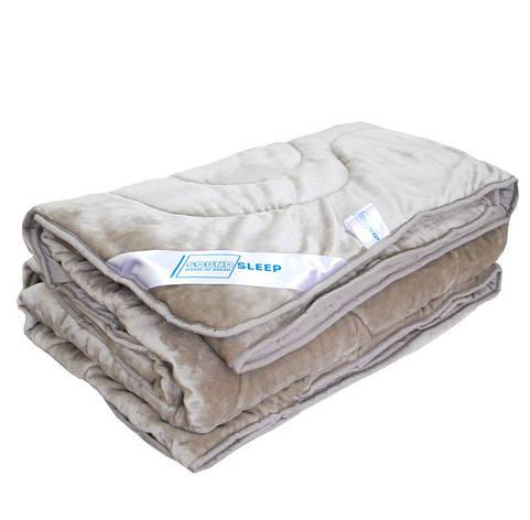 Одеяло полуторное летнее махровое SoundSleep 140х205 Cute бежевое 150 г/м2 , фото 2