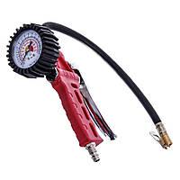 """Пистолет для подкачки колес с манометром PROFESSIONAL """"AIRKRAFT"""" STG-29 (Турция)"""