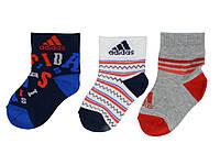 Носки дет. Adidas 3в1 Размер 23-26 (арт. Z25485)