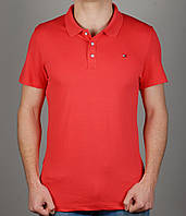 Мужская футболка TOMMY HILFIGER 3976 Коралловая