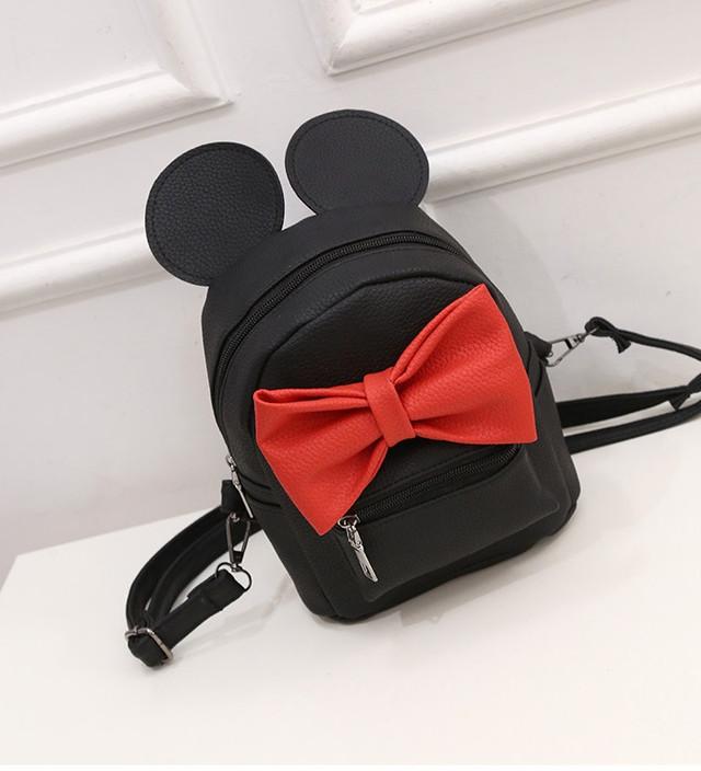 Рюкзак с красным бантом