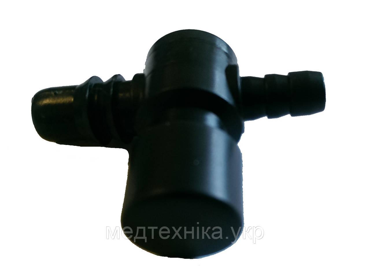 Пластмассовый самоспускающий клапан на грушу для тонометра (полуавтомат) на модели Omron, Microlife, Citizen