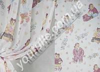 Тюль вуаль в детскую комнату