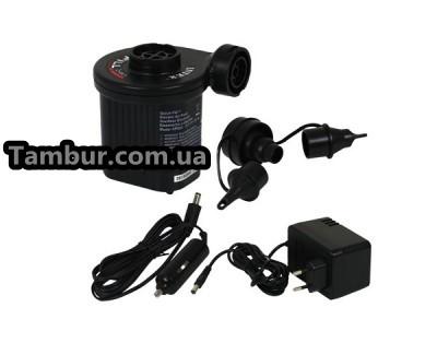 Электрический насос INTEX (универсальный) (от сети 220 И 12 V)