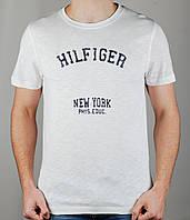 Мужская футболка TOMMY HILFIGER 3984 Белая