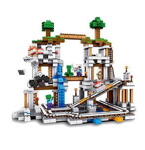 Конструктор Lepin серия  Minecraft 18011 Шахта (аналог Lego Майнкрафт, Minecraft 21118), фото 2