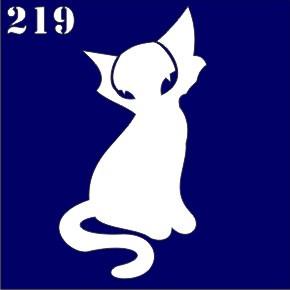 Трафарет для временного тату №219