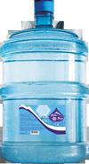 Бутель 18,9 л. (багаторазового використання - полікарбонат).