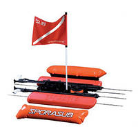 Плот-буй для подводной охоты и дайвинга Sporasub Overcraft S спорасаб оверкрафт С