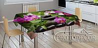 """3D-Фото скатерть """"Композиция из орхидей"""""""