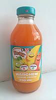 Сок детский Dizzy Frutik (яблоко, банан, морковь)  Польша 330 мл