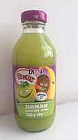 Сок детский Dizzy Frutik (яблоко, киви, банан)  Польша 330 мл