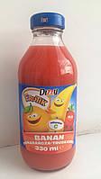 Сок детский Dizzy Frutik (апельсин, банан, клубника)  Польша 330 мл