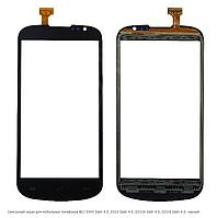 Сенсорный экран для мобильных телефонов BLU D300 Dash 4.5, D310 Dash 4.5, D310A Dash 4.5, D310I Dash 4.5, черн