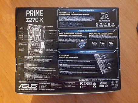 Материнская плата ASUS Prime Z270-K, фото 2