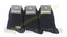 Носки мужские стрейч Монтекс размер (41-44) черные(Арт.НМ0023Х/360)