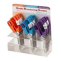 Ножницы  Kartopu для шитья и хобби 240мм оранжевые,синие фиолетовые