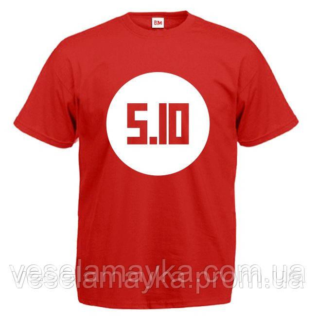 футболка лого печать