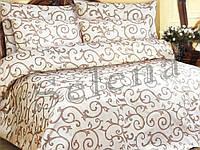 """Комплект постельного белья """"Ковка светлая"""" двуспальный евро"""