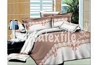 """Комплект постельного белья """"Бантики"""" двуспальный евро"""