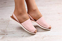Женские кожаные  стильные сандалии 2017 разных цветов