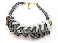 Нарядное колье (ожерелье) Нежность