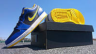 """Кроссовки Air Jordan 1 Low """"Blue\Yellow"""""""