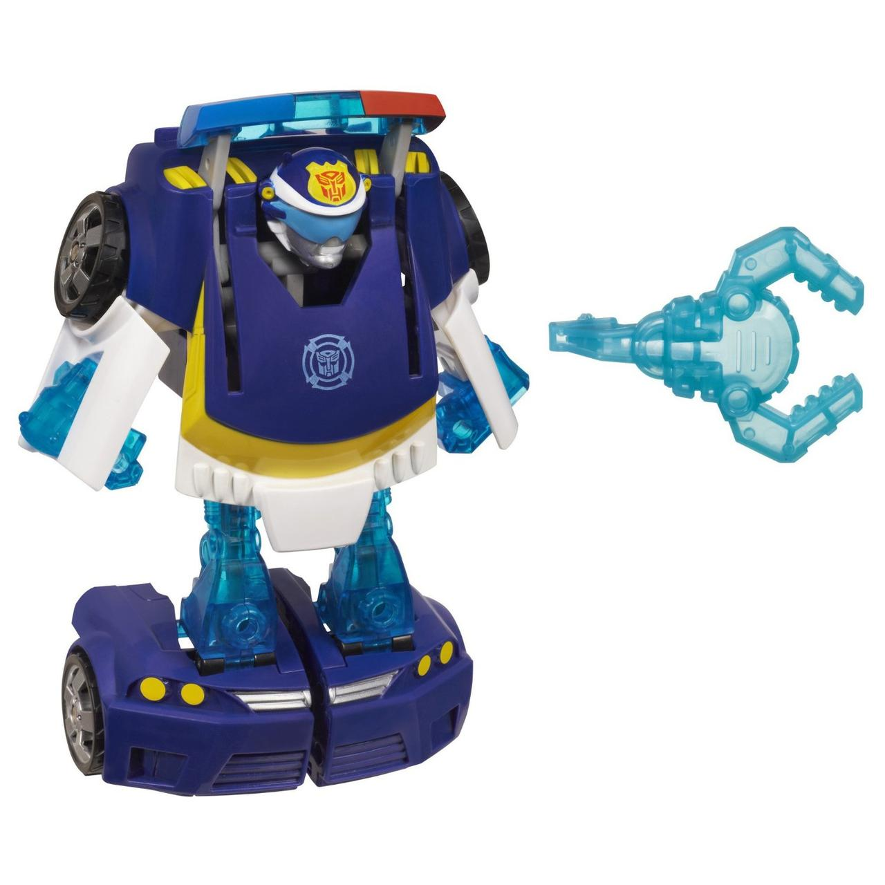 Трансформер Боты Спасатели Чейз Playskool Heroes Transformers Rescue Bots Energize Chase the Police-Bot Figure