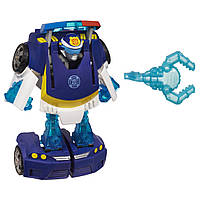 Трансформер Боты Спасатели Чейз Playskool Heroes Transformers Rescue Bots Energize Chase the Police-Bot Figure, фото 1