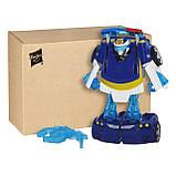 Трансформер Боты Спасатели Чейз Playskool Heroes Transformers Rescue Bots Energize Chase the Police-Bot Figure, фото 2