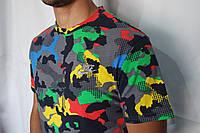 Мужская камуфляжная яркая футболка Nike