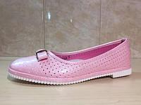Подростковые туфли на девочку, перфорация 30-36 рр. ТОМ.М